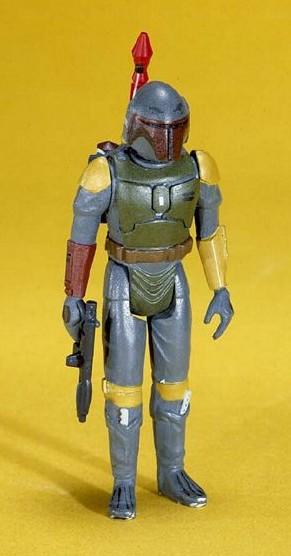 Original Boba Fett action figure conceptual model - via The Star Wars Collectors Archive