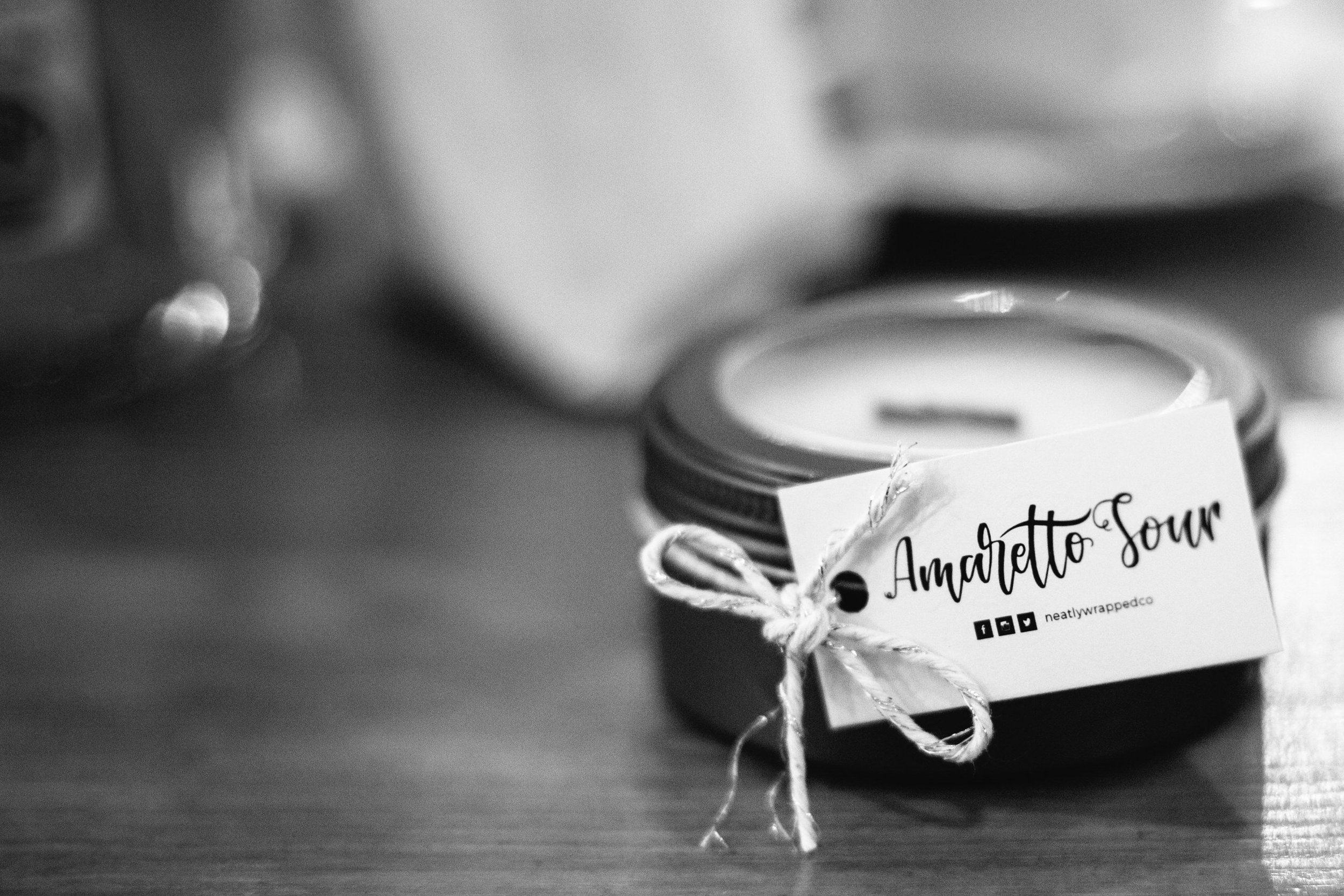 amaretto-sour-candle-drygate-alternative-glasgow-wedding-neatly-wrapped-caro-weiss-favours