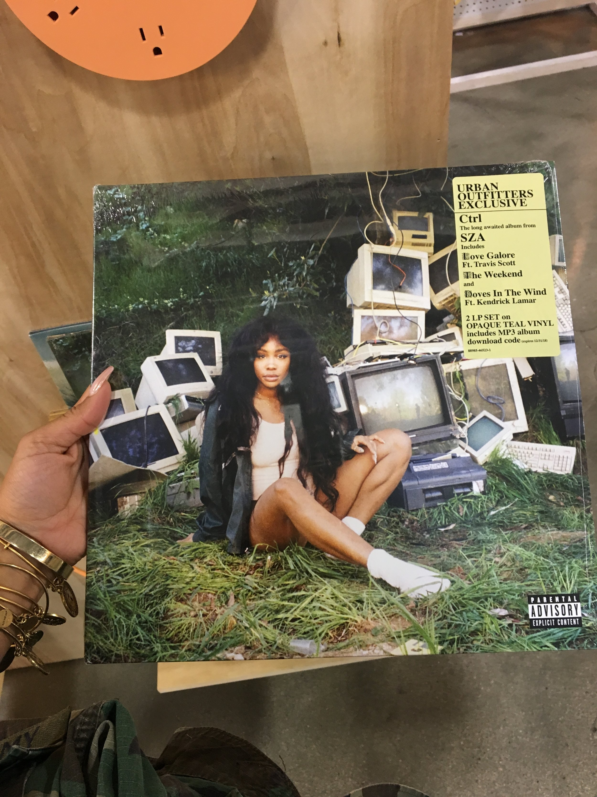 My first night in LV of course involved shopping. Although I didn't buy anything major, I made a stop in Urban Outfitter and found these vinyls by Sza (my fave) and Beyonce (MUVA). Of course, it wouldn't be me if I didn't have a crazy story to go with it. As we are in the mall, all alarms start sounding and people continue to walk casually. The person that I am starts searching social media for hashtags, looking at the location's Snapchat, everything. At this point, the alarms went off for about 10-15 minutes and loudly might I add with high-voltage bright lights. The shoe store I was closed their doors...with us still there, advising no one to leave. Come to find out, there was a shooting on the strip between two men who got into an altercation. One pulled a gun on the other and the man was taken to intensive care. Of course, we read about the article from the news and the associates who worked at the store begin to panic. Long story long, everyone within the mall was ok and me and my friends were able to leave. Talk about a first night to remember!