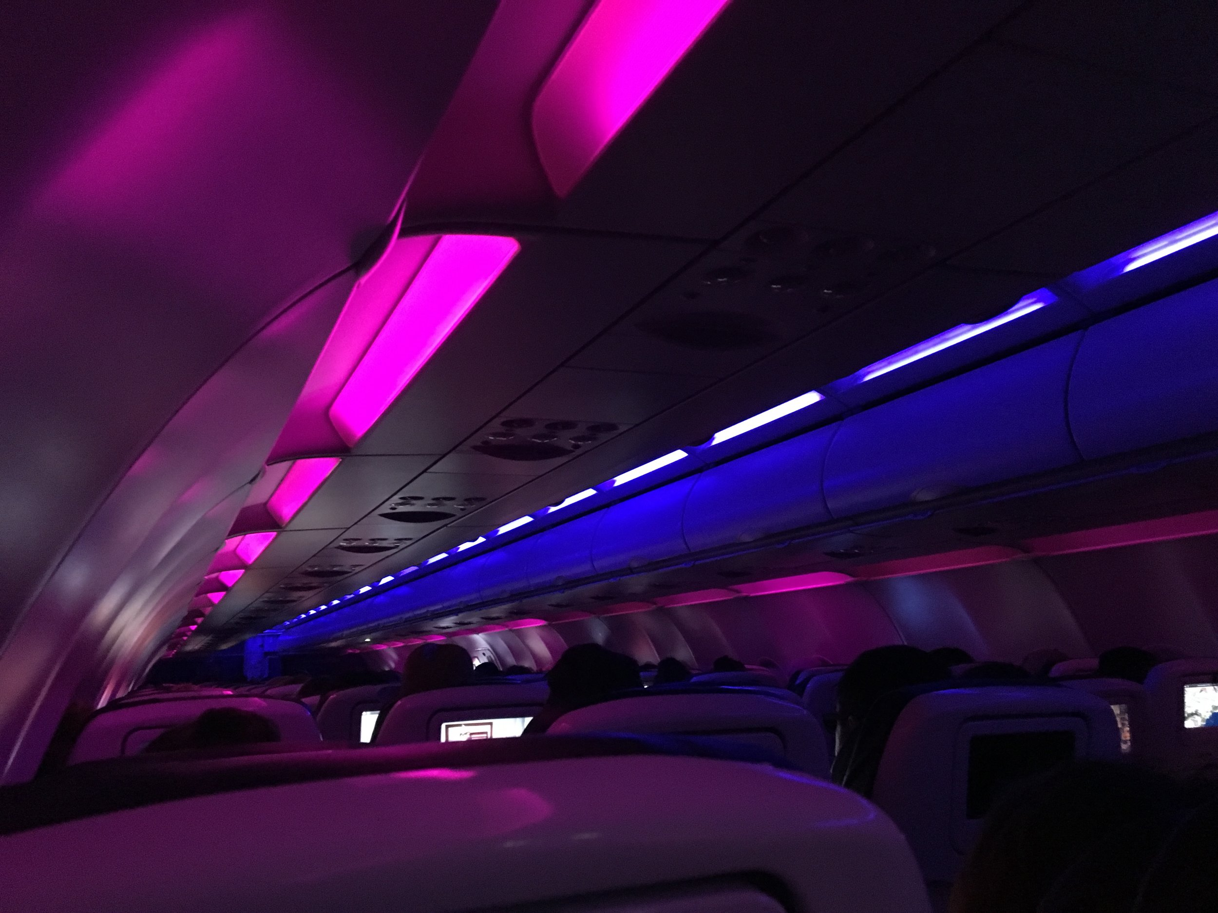 I was beyond excited to finally fly on Virgin America Airlines