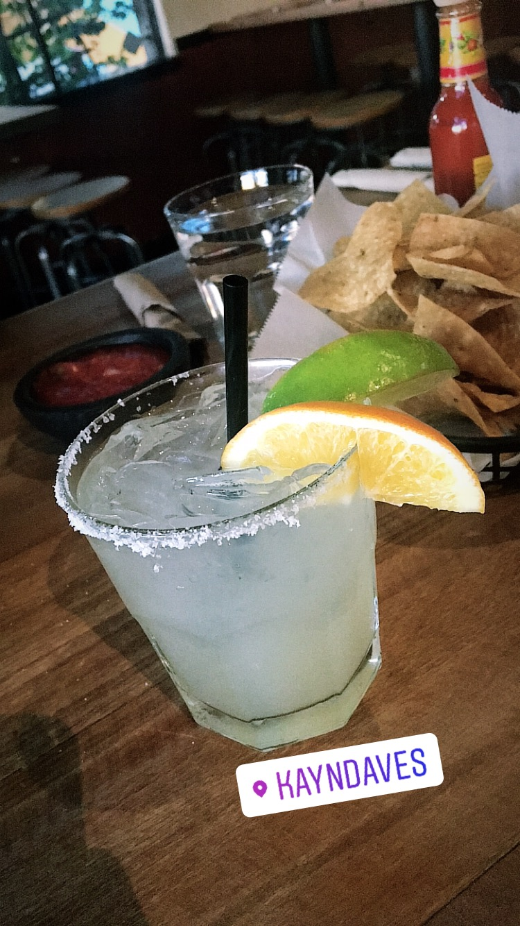 "Did someone say ""Happy Hour?"" Maragaritas, of course."