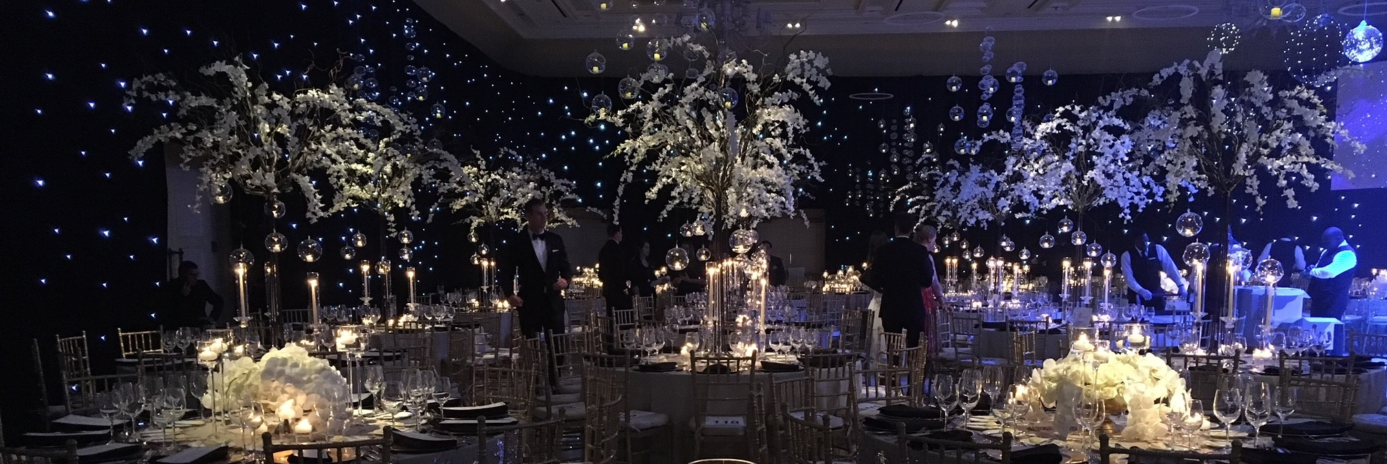 """Celebration of the Elements"" Gala Design by EcoChi for the Global Wellness Summit 2017,    photo credit: The Breakers"