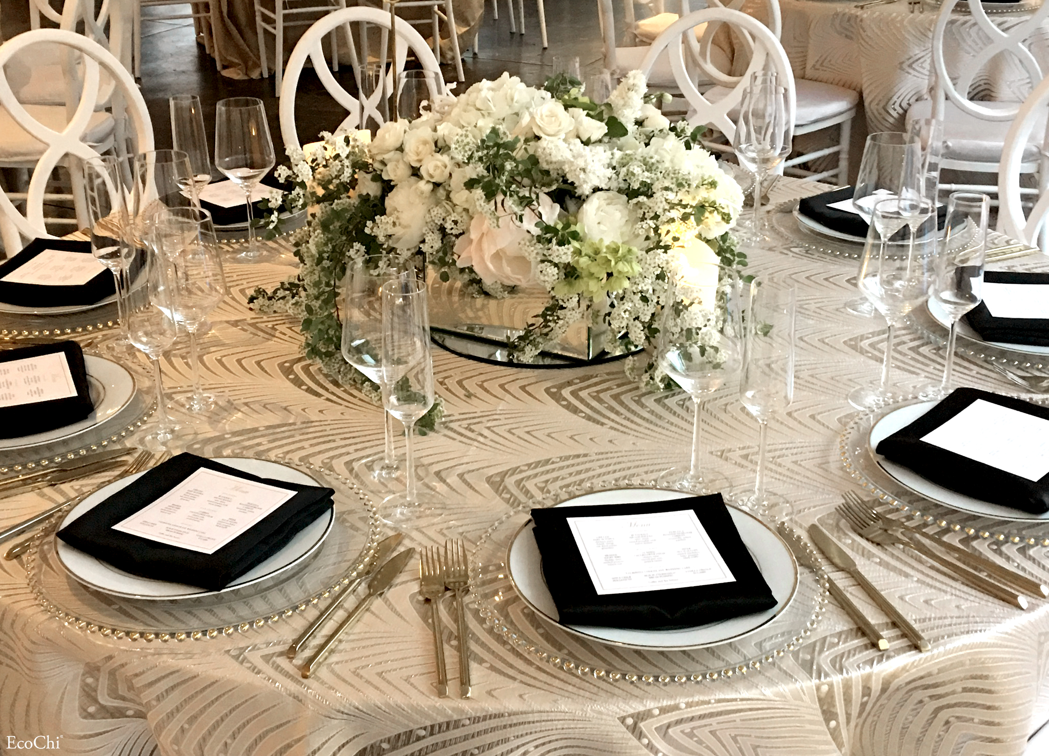 WEDDING TABLE SETTING DESIGN- INDUSTRIA NYC