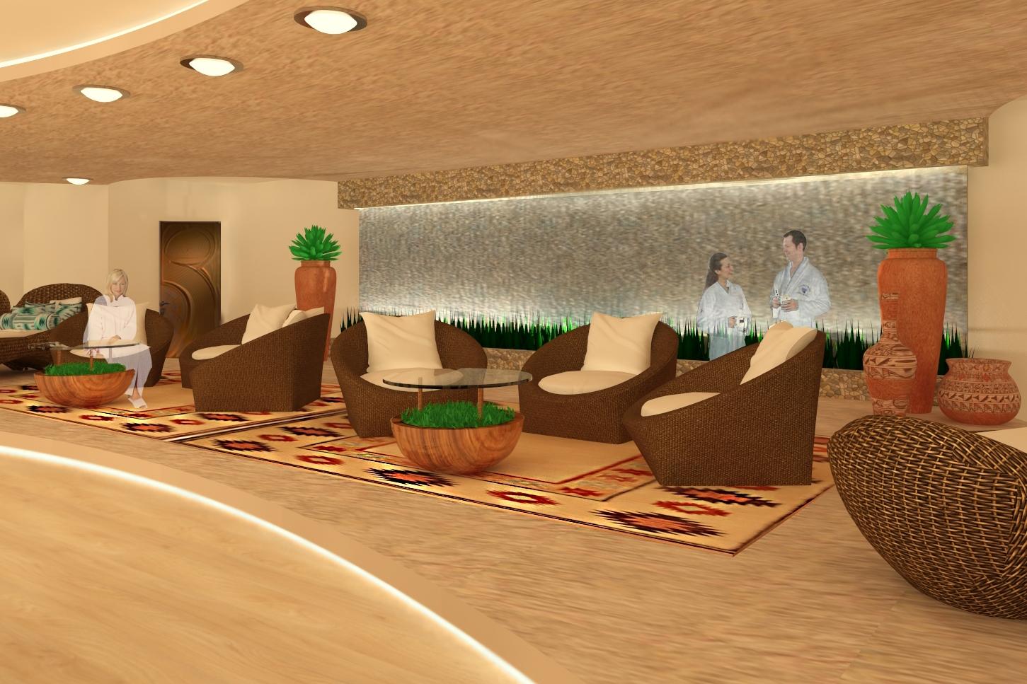 Sedona Spa - Relaxation Room -Sedona, AZ
