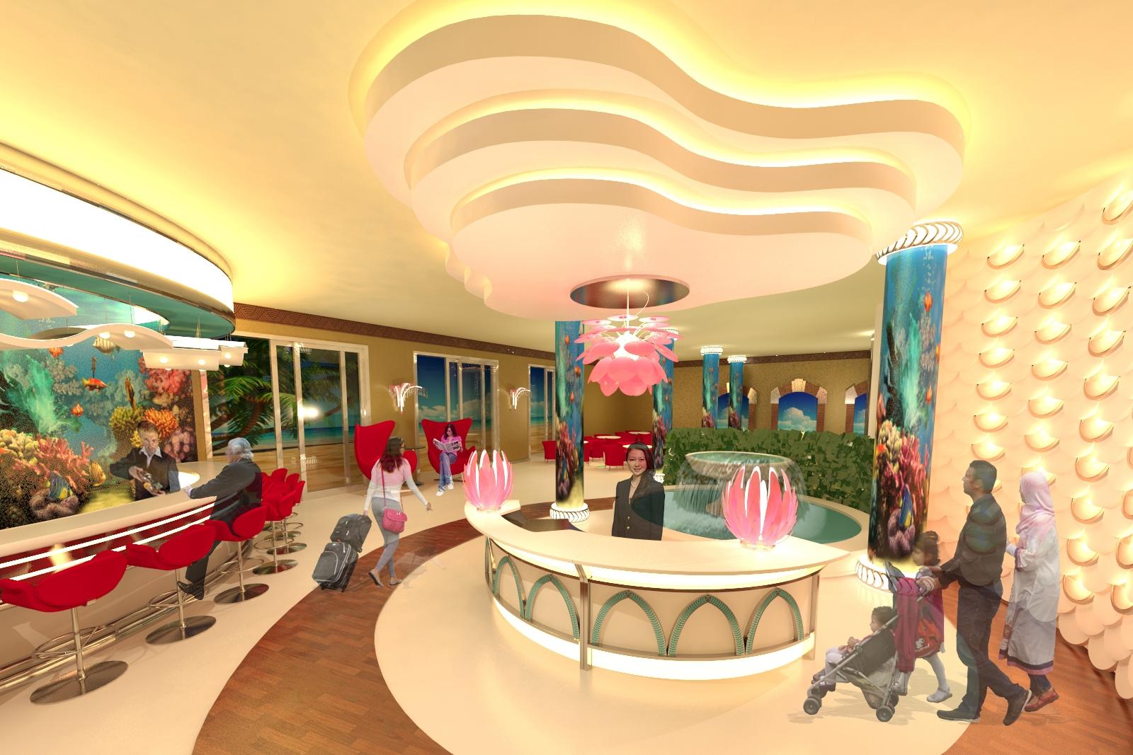 Hotel Grand Lobby - Dubai, UAE