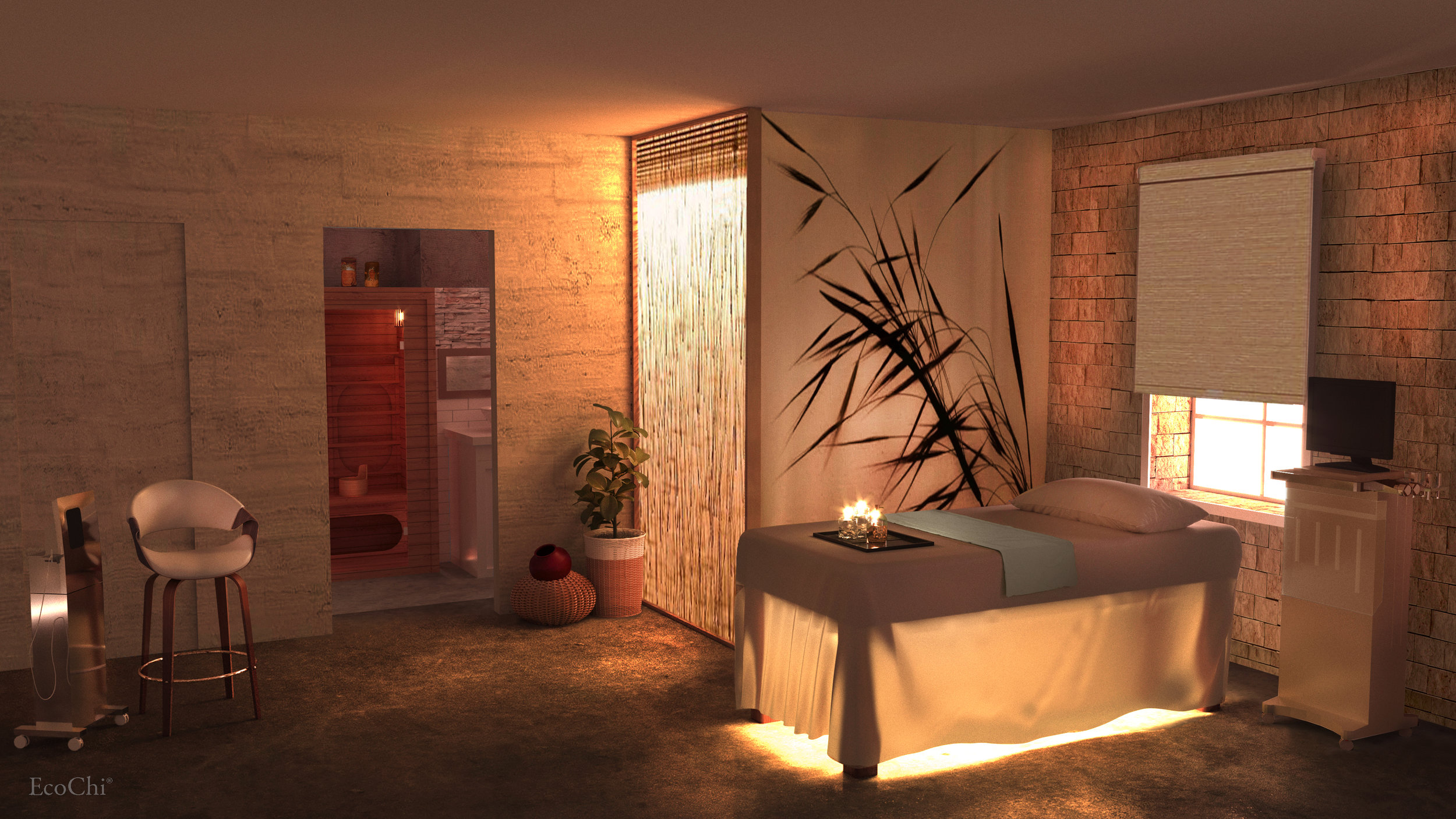 SERENBE SPA TREATMENT ROOM- PALMETTO, GA