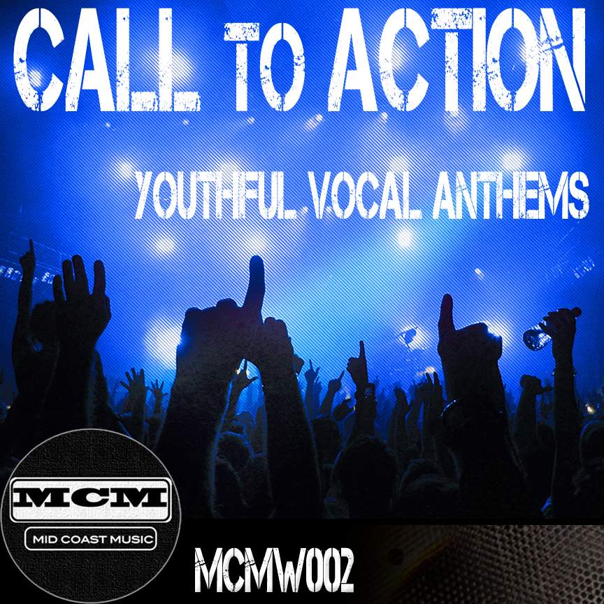 Anthemic motivational Call To Action lyrical themes. Vocal and instrumental versions in MCM's proprietary Promo, ReVamped and ReWired formats.    GOOD FOR    · Sports, Advertising and Promos    · Youthful, motivational themes    · Politics/Elections    · Olympics    · Positive stories of victory    · Underscore