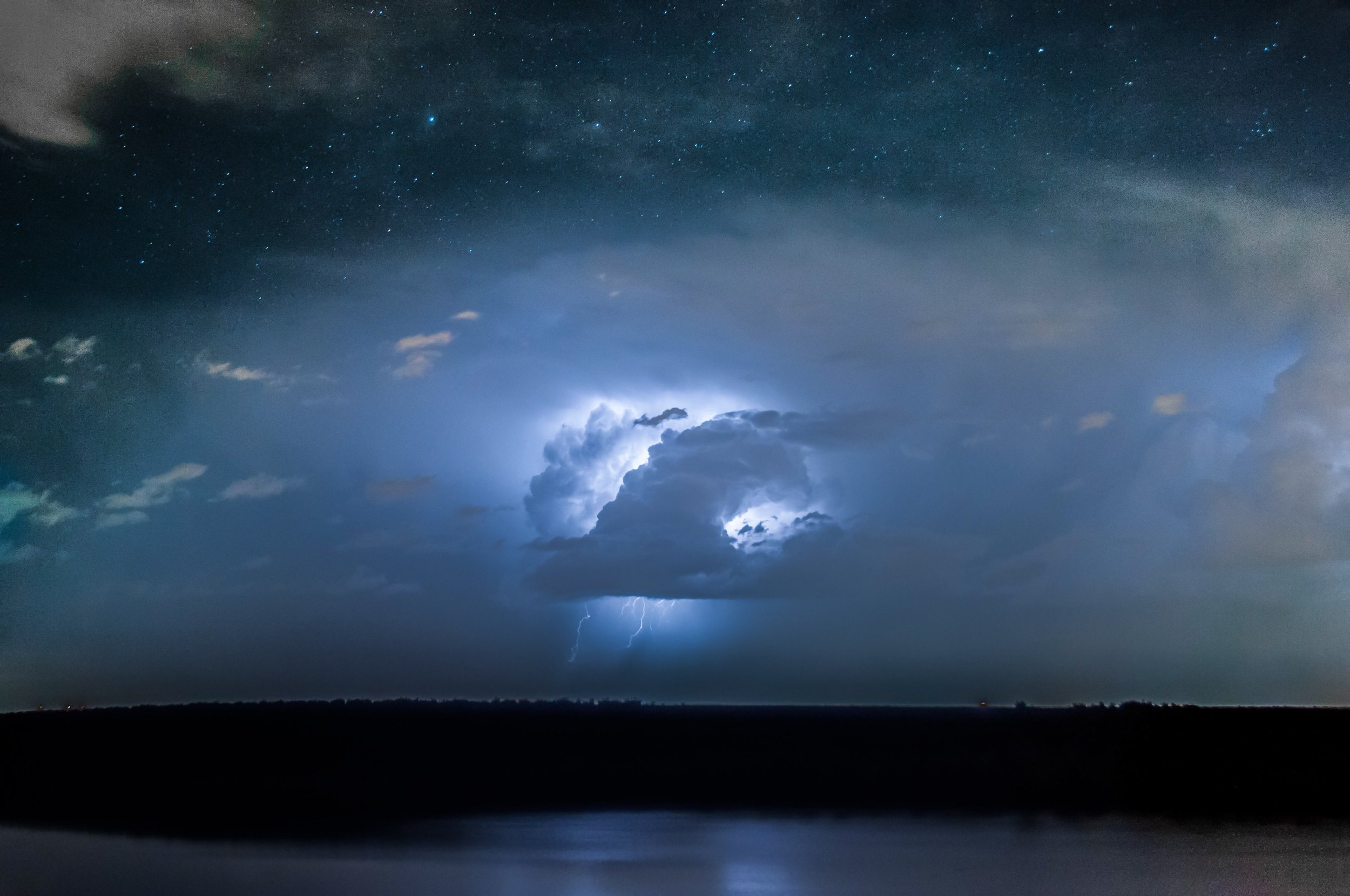 Voice of God - The voice of God thunders. His voice splits the seas. The voice of the Lord is powerful and majestic. His voice strikes like lightning bolts and makes the deserts quake, and he leaves the forests bare. Psalm 29