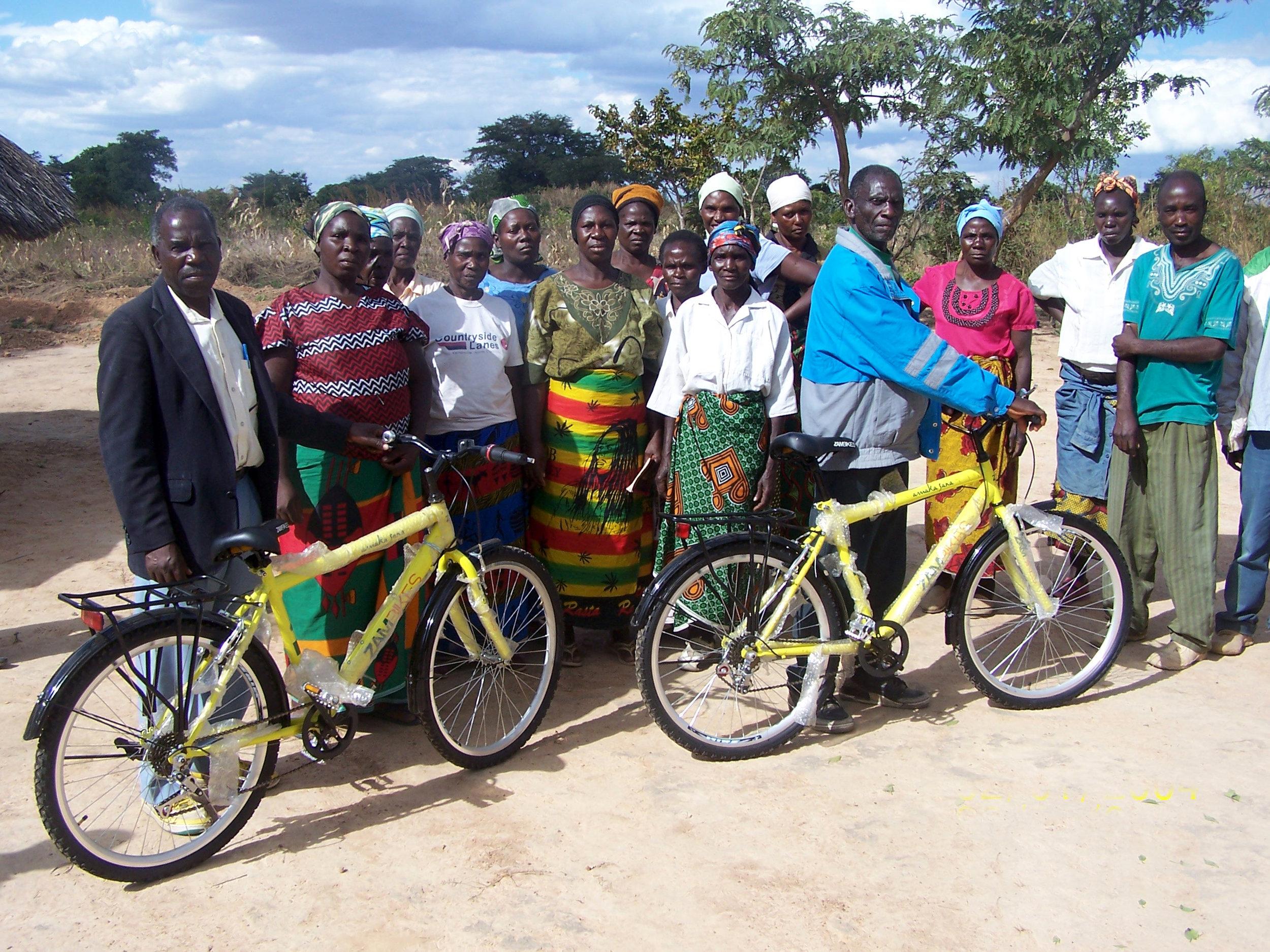 Zambia Bicycle Evangelists