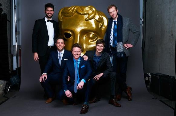 The team at the 2015 Children's BAFTA Awards