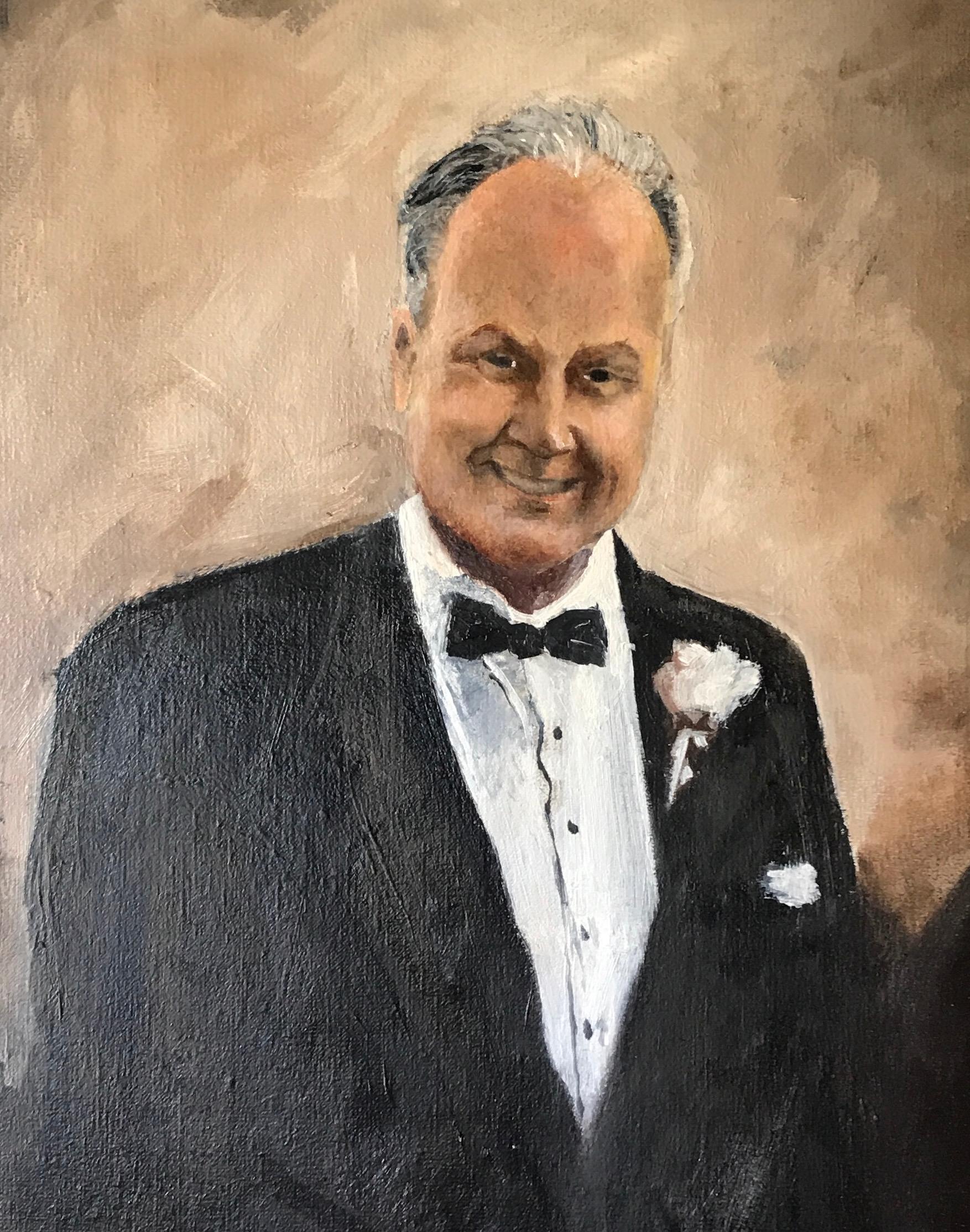 Portrait of John Cole (detail)
