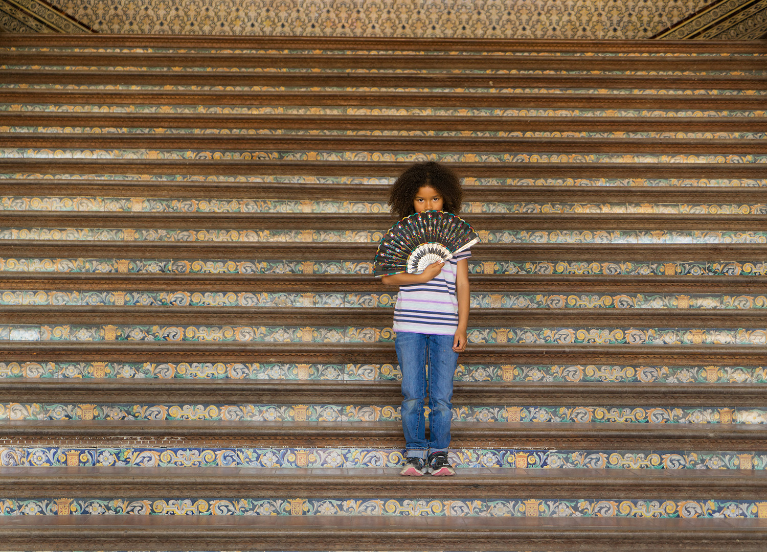 girl on stairs-children's lifestyle photography