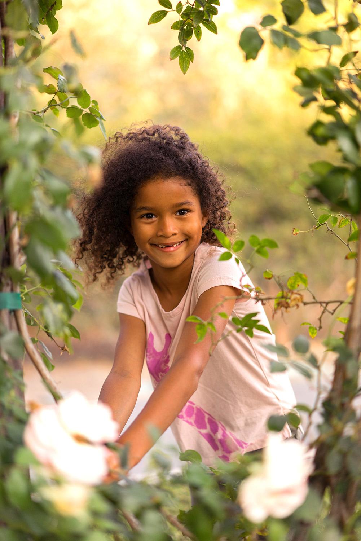 girl in the rose garden-Danville on location photographer
