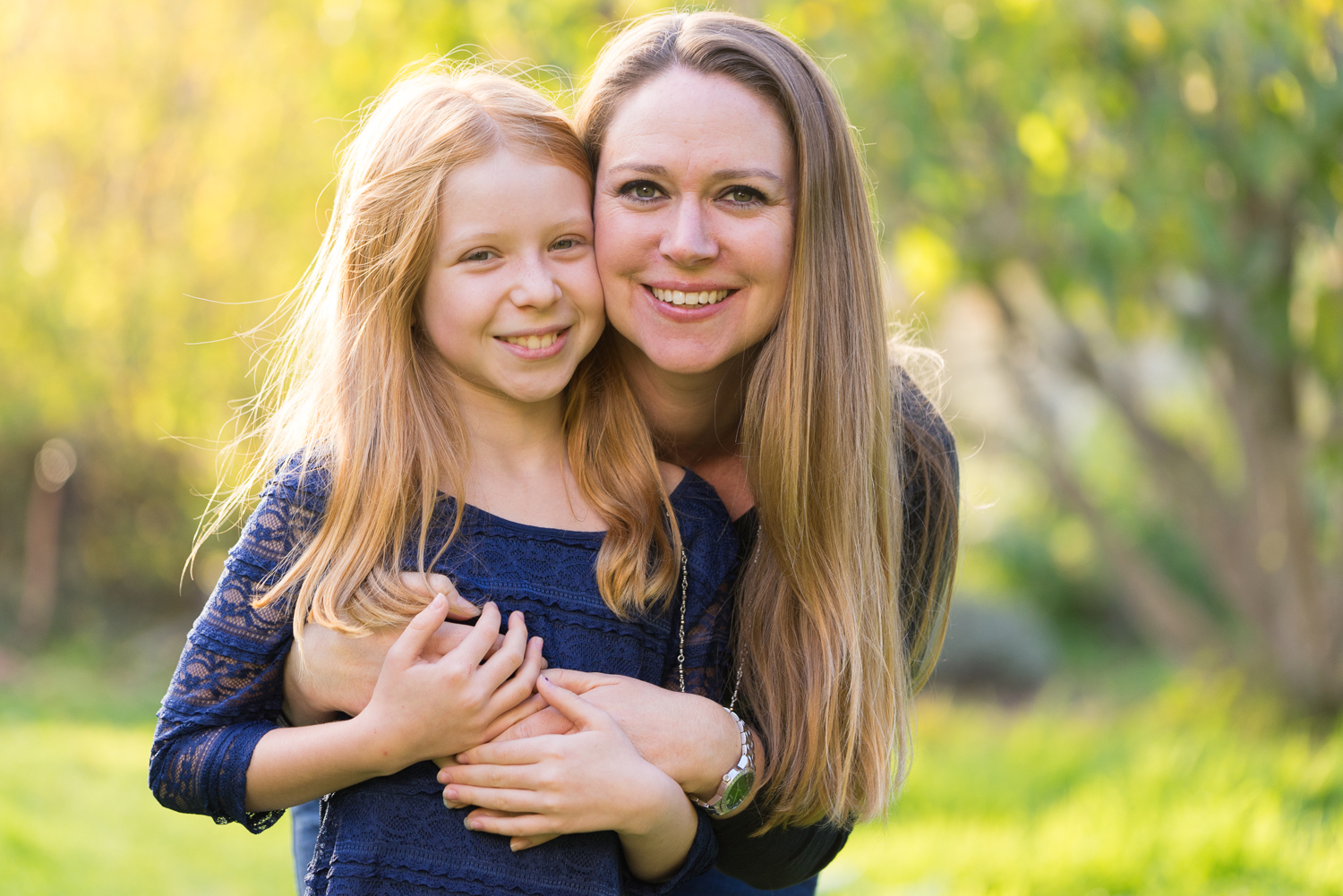 Mother with 10 year old daughter-SF East Bay family photographer