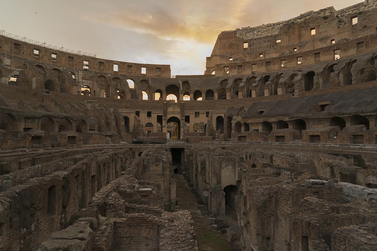 Rome, Italy - high school portrait photography