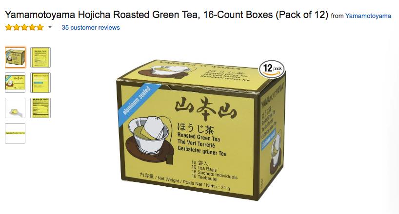 This tea is amazing.
