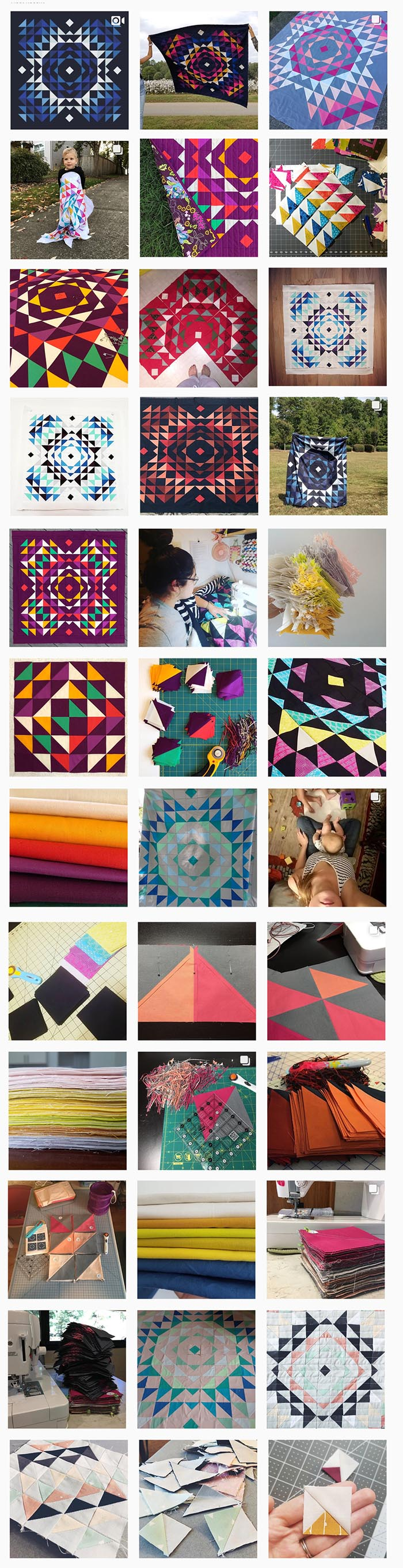 Totality Quilt Instagram Feed