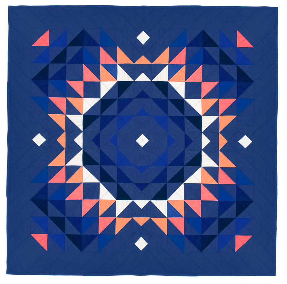 Totality Quilt in Carotene