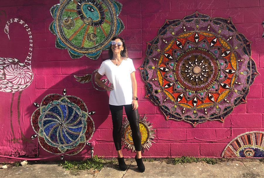 Adela Baker, New Orleans