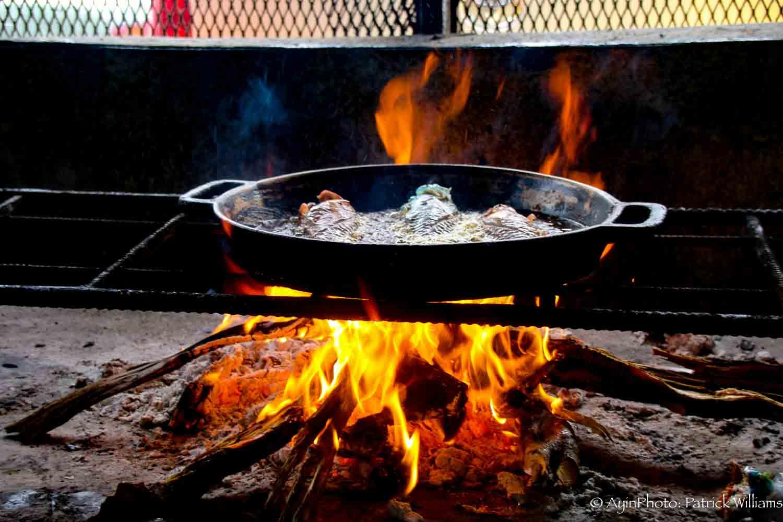 Jamaican Fry Fish (Coal)