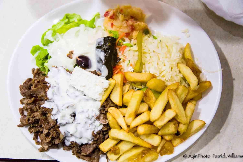 Greek Pitta Platter