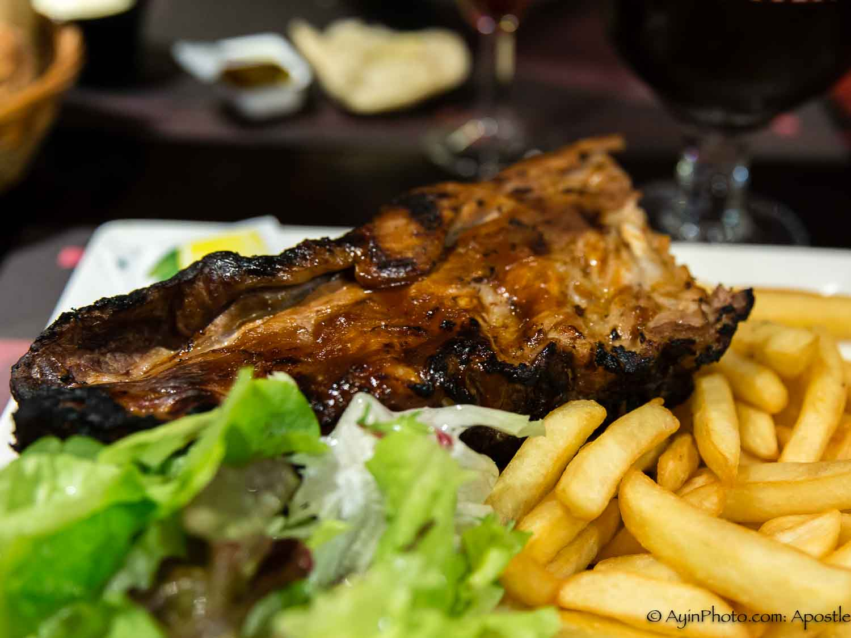 Belgian Steak with Fritt