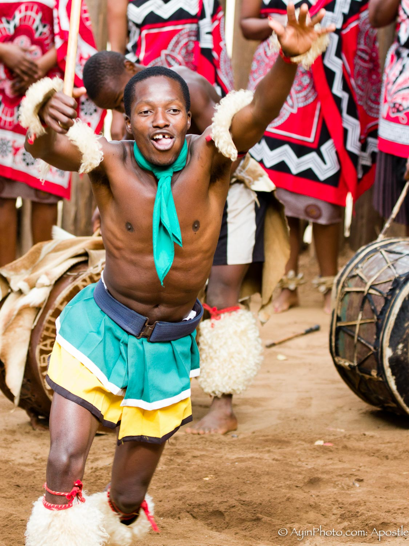 Zulu Dance Leader