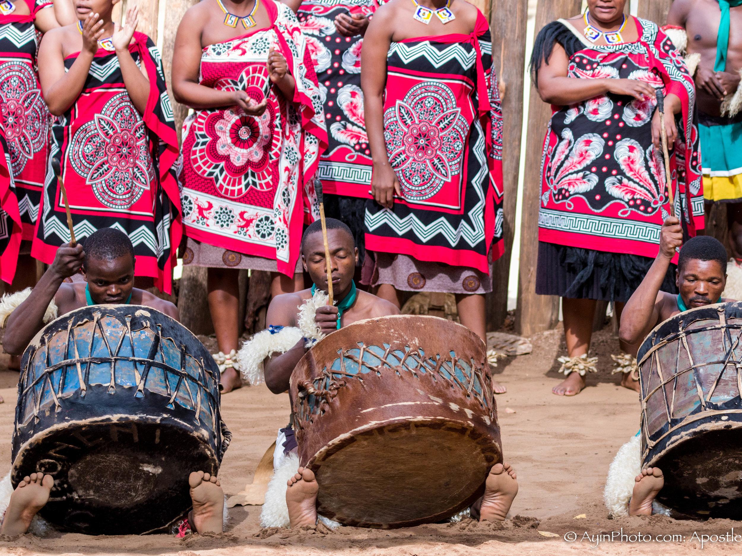Zulu Drummers