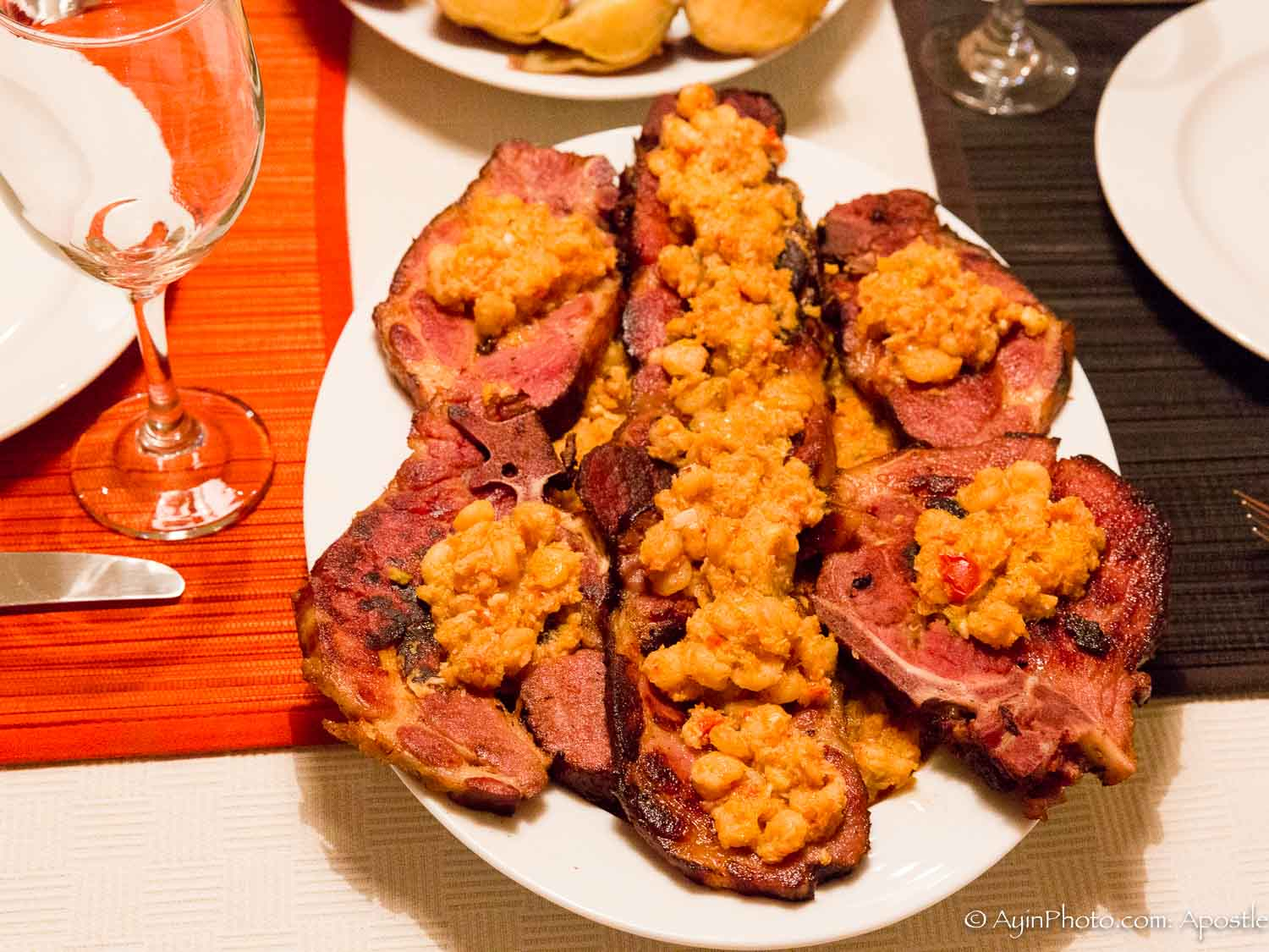 African - Gabon Pork Chops with Special Sauce