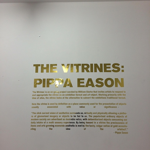 The Vitrines:Pippa Eason, 2016 -  Set the Controls for the Heart of the Sun  , Leeds, Curated by Will Clarke