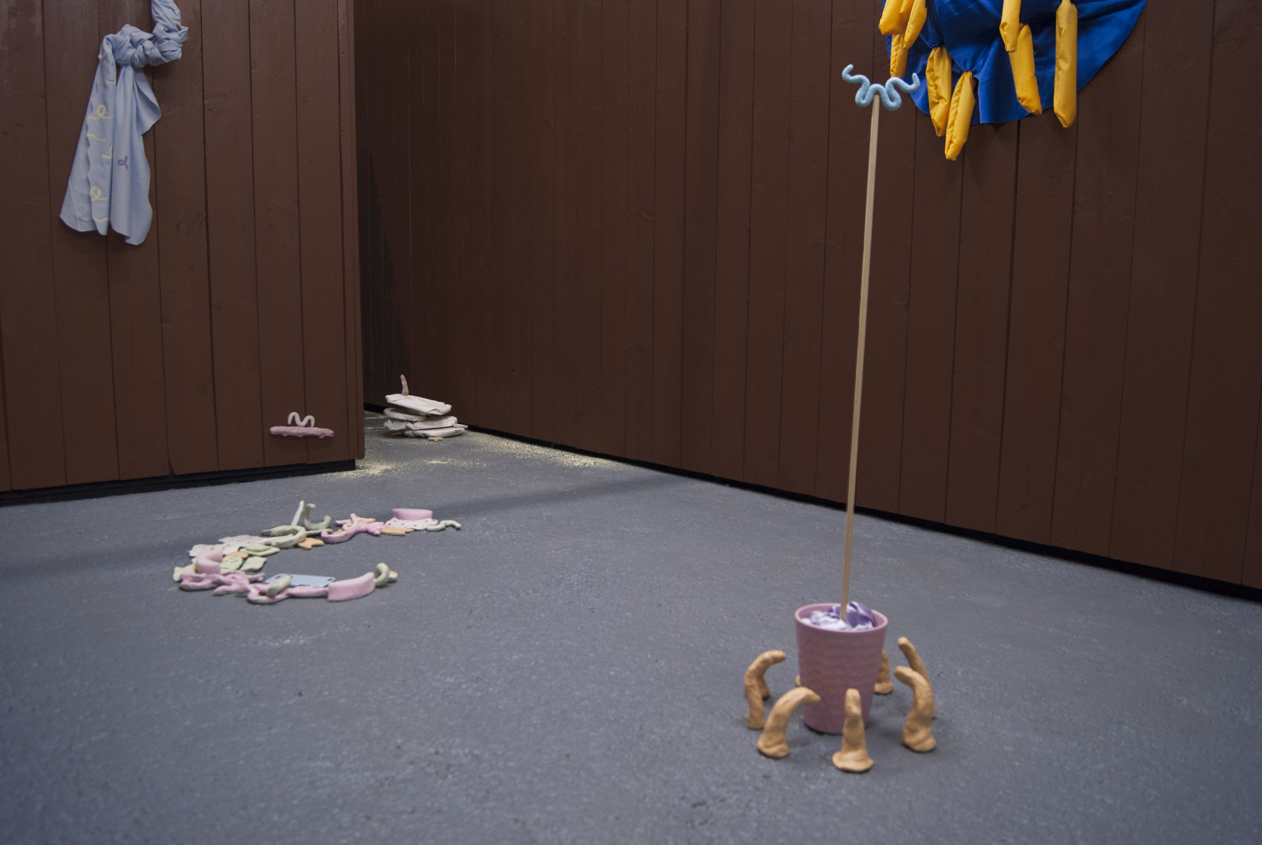 Install shot from Still Scrolling, Trophy Room, Liverpool