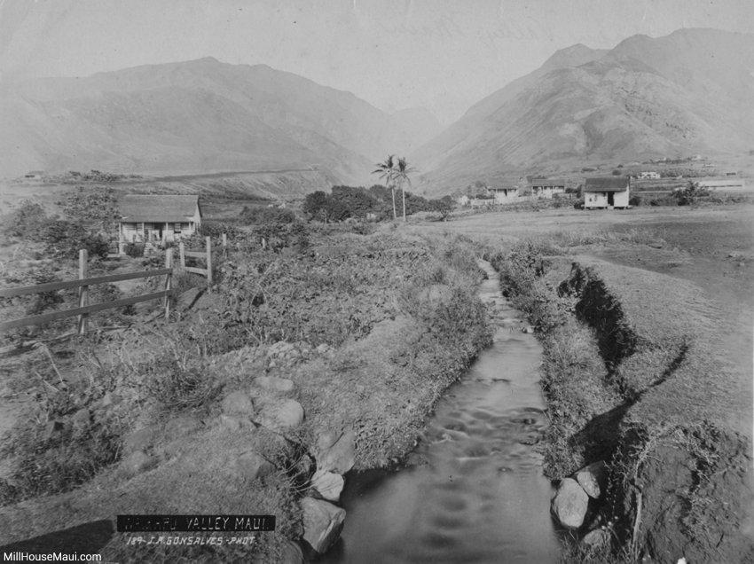 waikapu valley historic