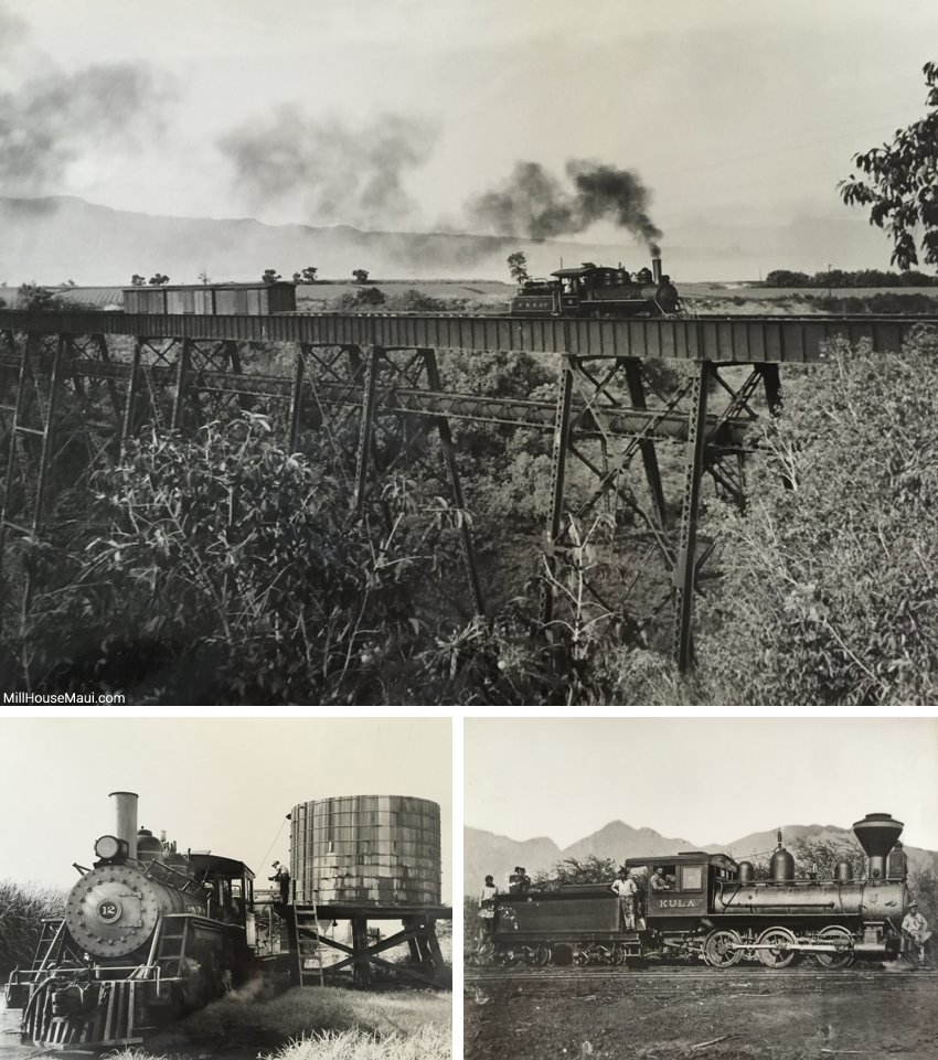 old Maui trains