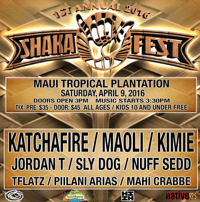 shaka fest poster