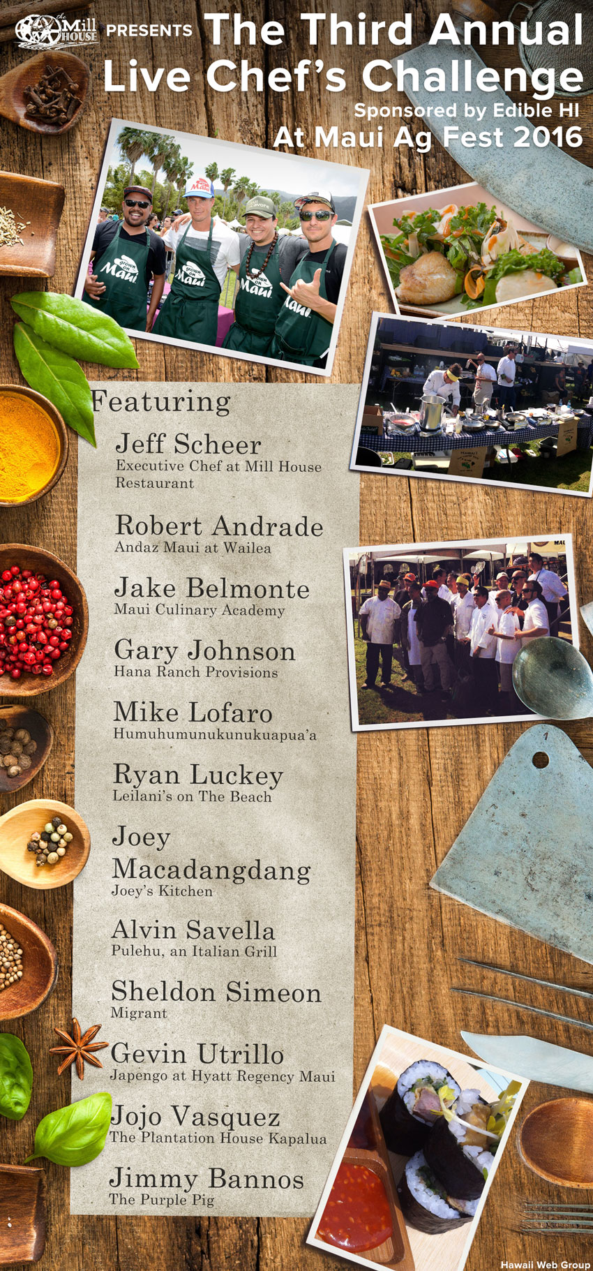 third annual live chefs challenge at ag fest 2016