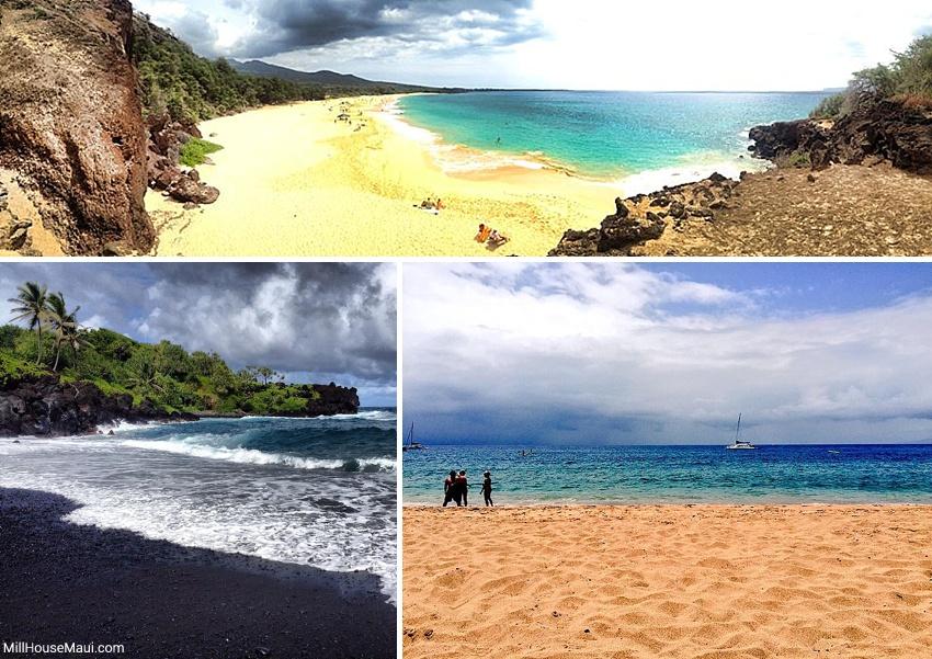 best beaches in maui