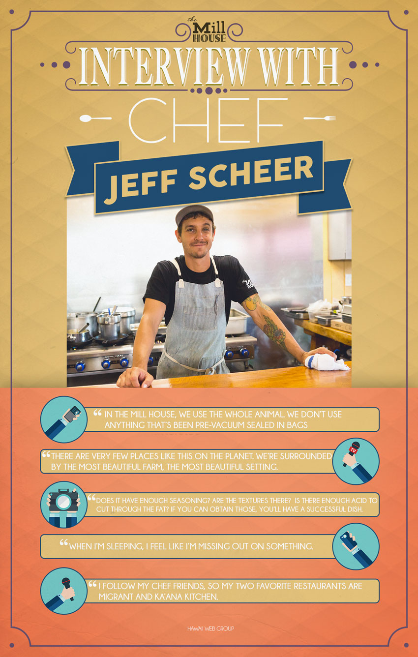 interview with chef jeff scheer infographic