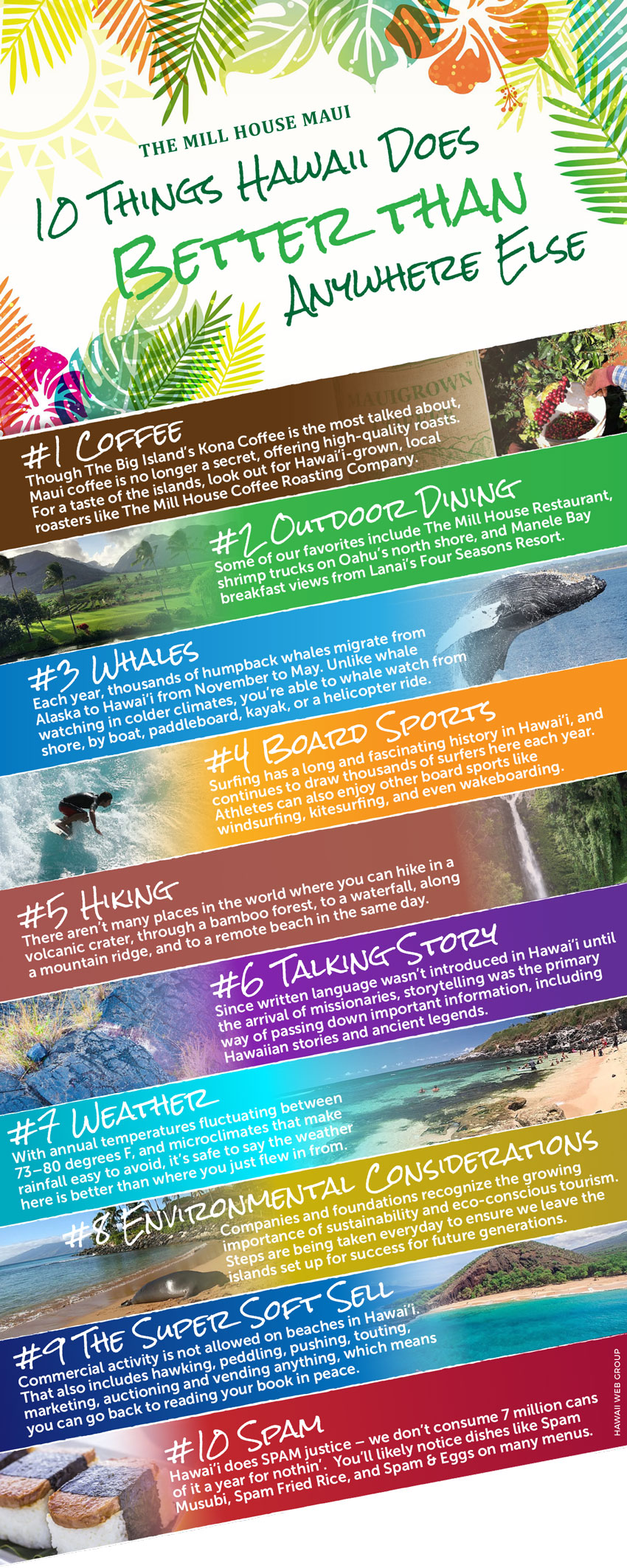 10 things hawaii does better than anywhere else infographic