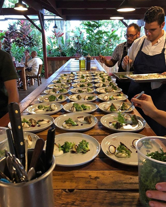 Loving the green flavors of summer. 💚🥒🥦🌱 #mauichefstable #chefstable #millhousemaui #mauitropicalplantation #mauidining #mauieats #maui #hawaii #mauichef #diningmaui #yelpmaui #chef #mauihawaii #visitmaui #gohawaii