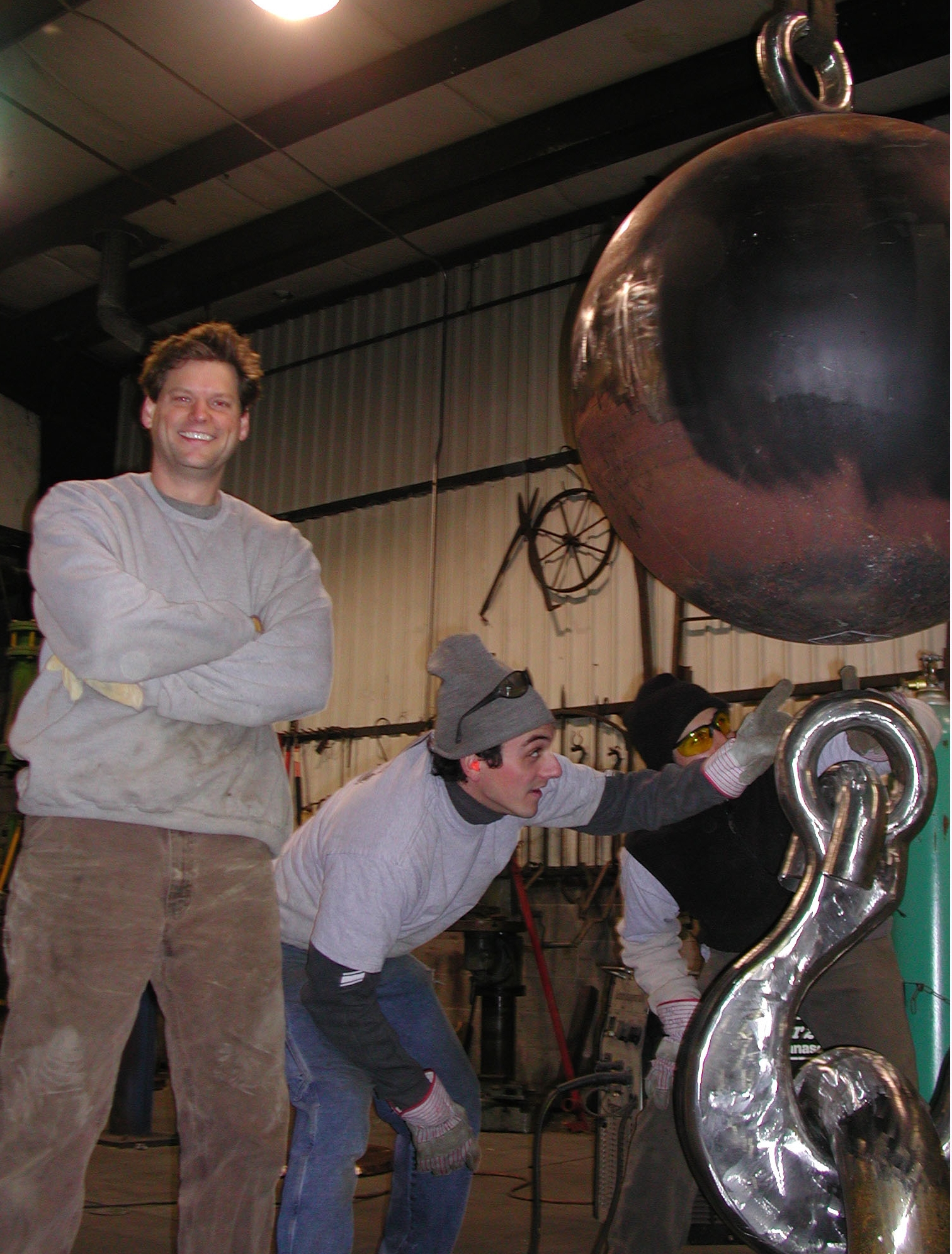 Andrew with sculpture.jpg