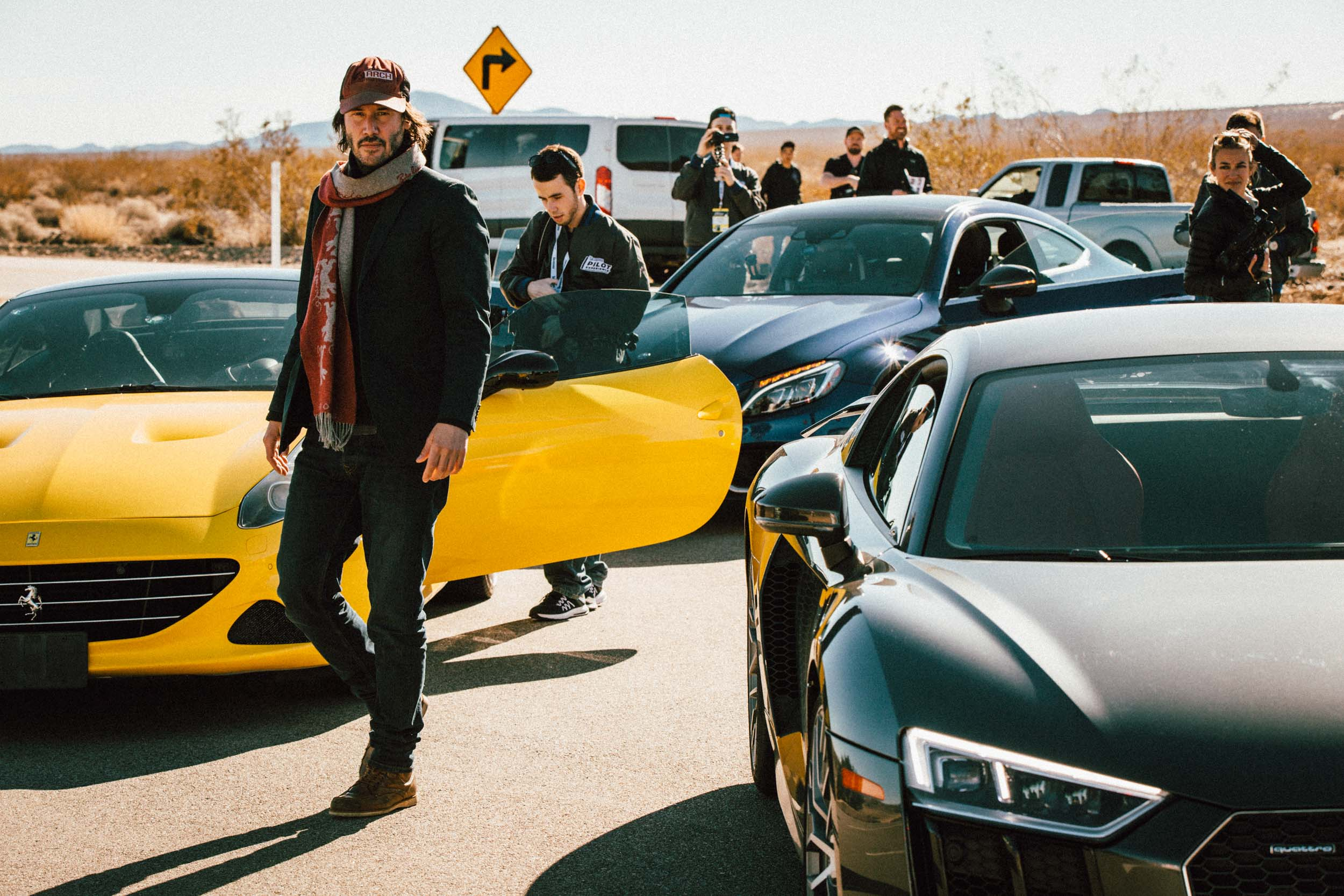 Keanu Reeves / Pilot Sport Experience x Michelin