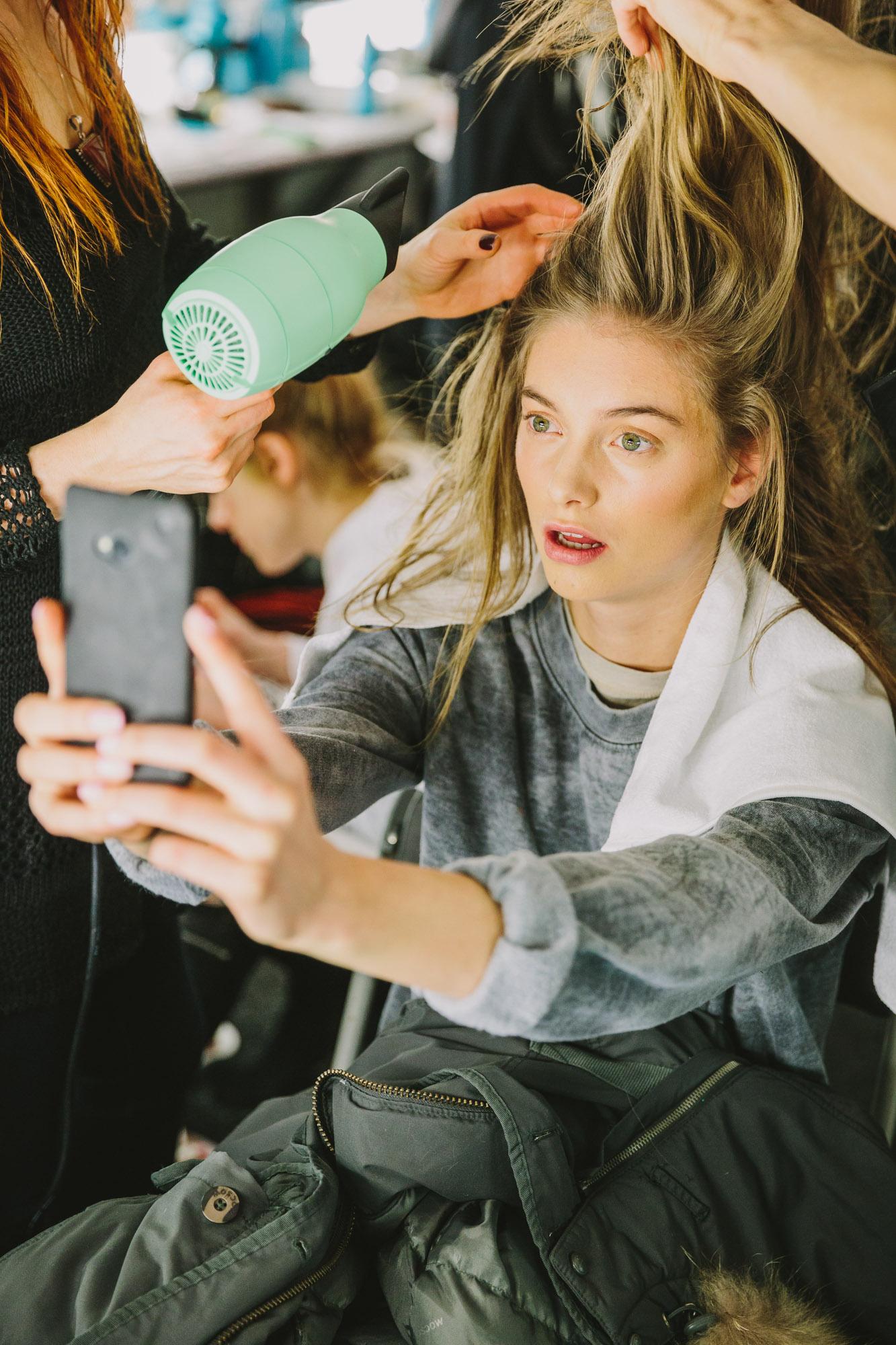 Monique Lhullier / NYFW x Marie Claire