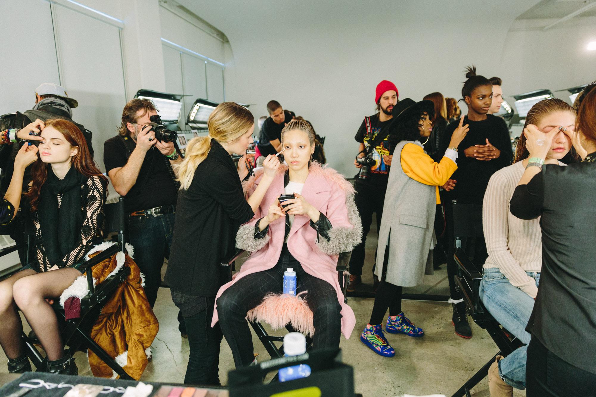 Jeremy Scott / NYFW x Marie Claire