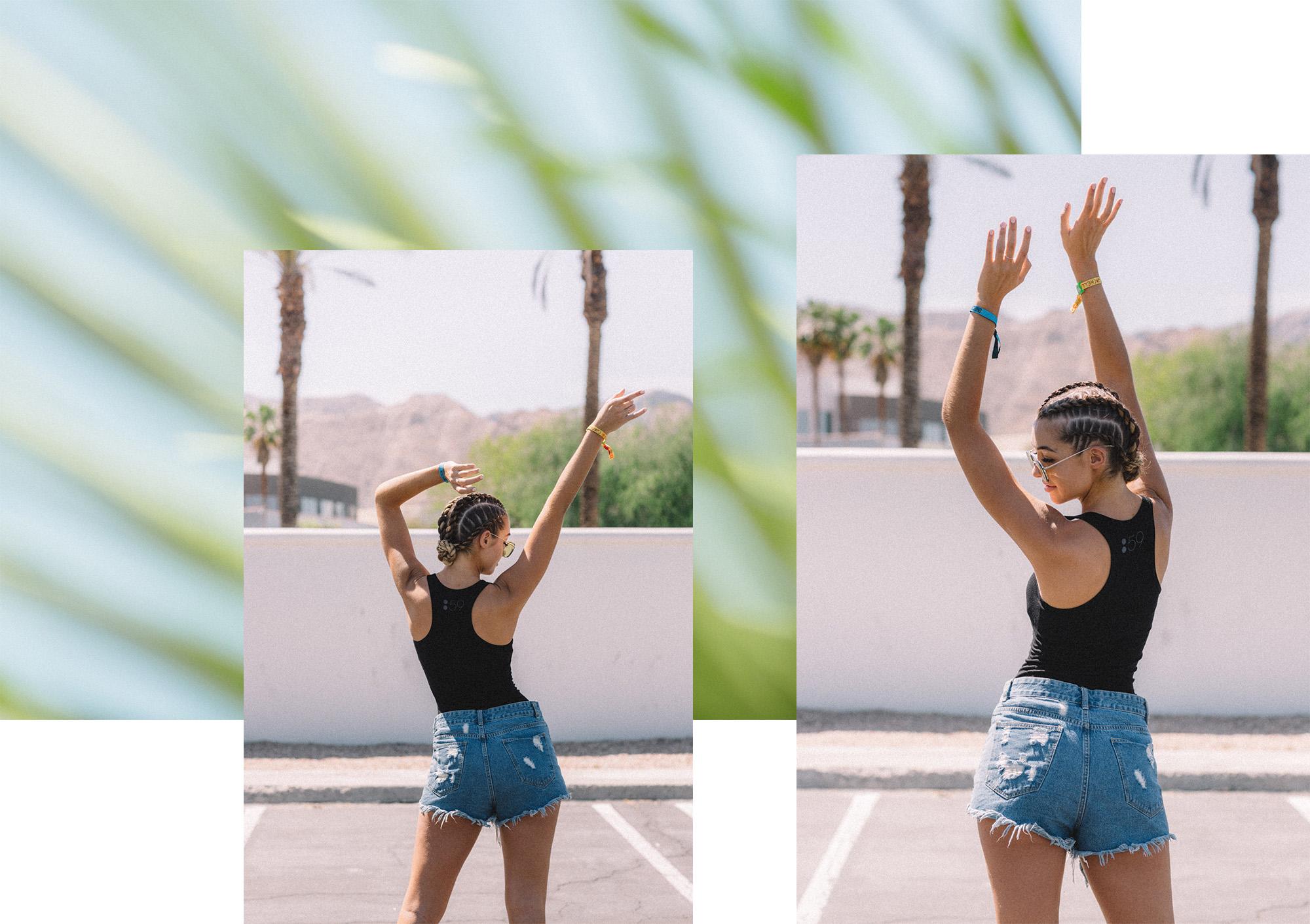 Sammy Robinson / Coachella x ghd hair