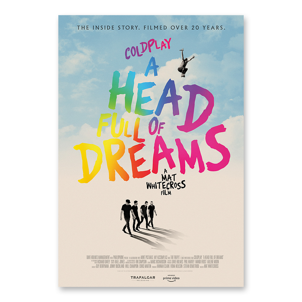 Coldplay - 'A Head Full of Dreams' (Amazon Prime Video, Parlophone)