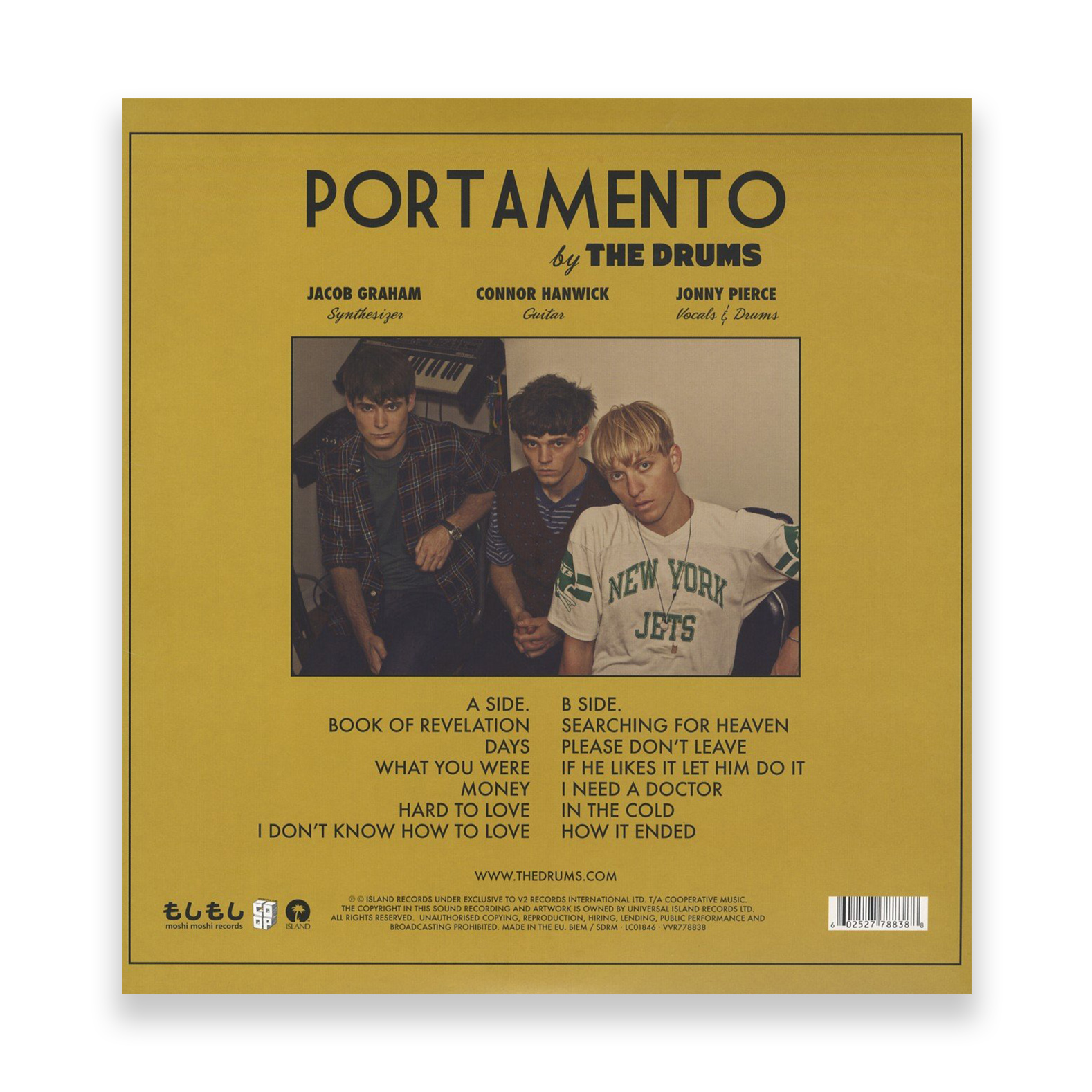 The Drums - 'Portamento' (Island Records)