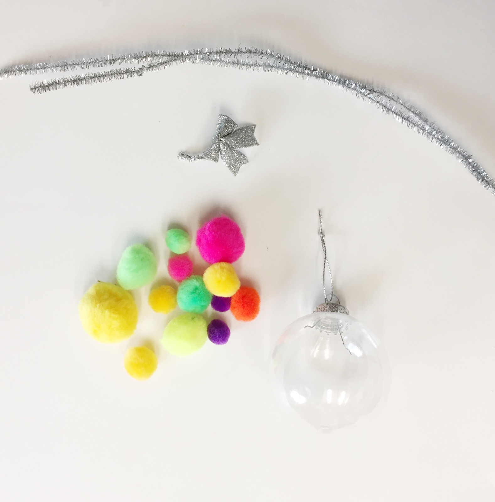 found object ornament supplies