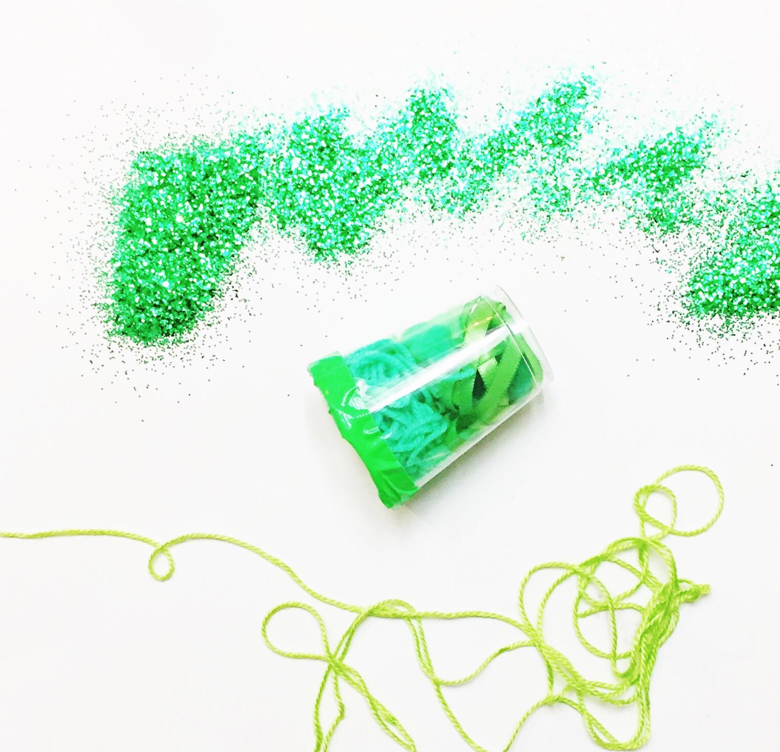green sensory diy toy for babies