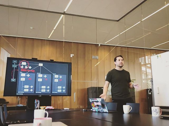 Momentary bouts of seriousness have long affected my quality of life. 😅 . . . #tech #architecture #devops #worklifebalance #officelife #corporate pic cred: @andreaslarsen