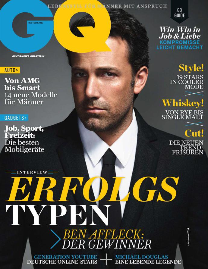 Ben Affleck, GQ Germany